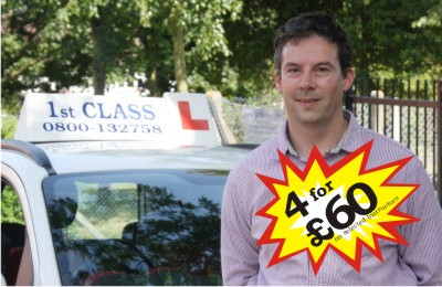 Rob driving lessons in Harlow