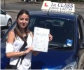 Basilica with Driving test pass certificate