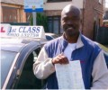 Zale with Driving test pass certificate