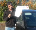 Baraki with Driving test pass certificate