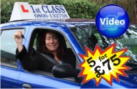 Female Driving Lessons in Kingston