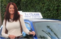 Female Driving lessons in Haselmere