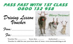 Christmas voucher Red Nose